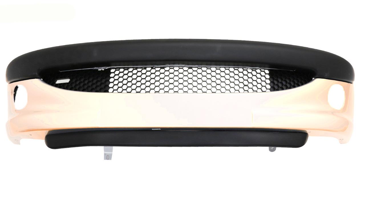 سپر جلو خودرو پژو 206 رنگ بژ - پوسته سپر رنگ کوره ای مارک مهرساز